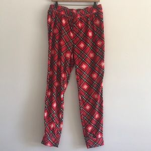 NWT Justice Girl's Holiday Lounge Jogger PJ Size20